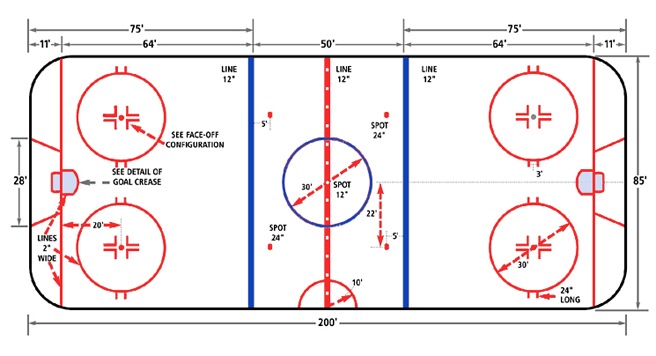 Rink Layouts