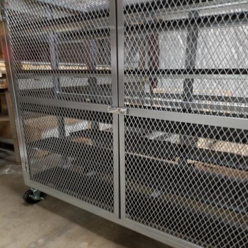 Mesh Storage Doors