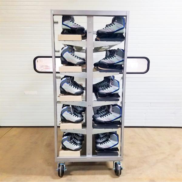 Portable Skate Rack