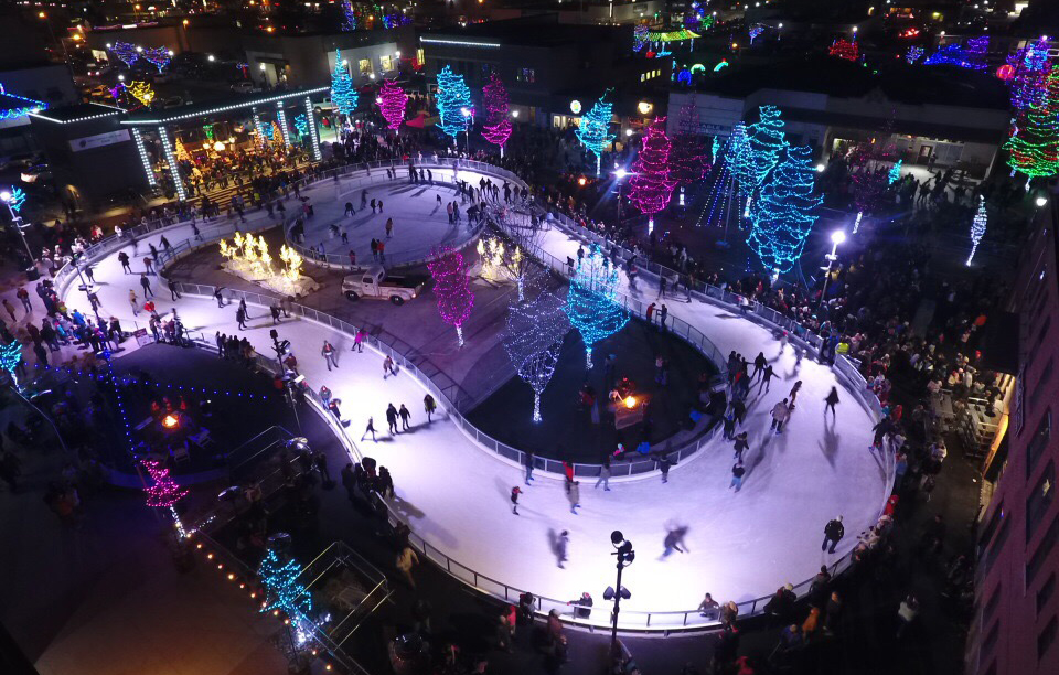 Say YES to an outdoor ice rink!